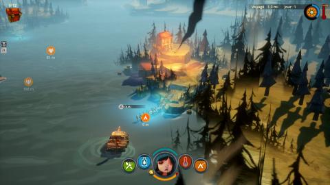 The Flame In the Flood : La survie en écran de fumée