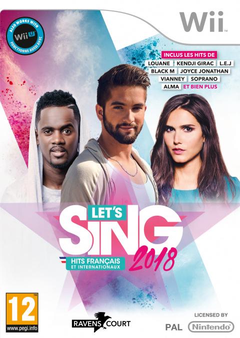 Let's Sing 2018 : Hits Français et Internationaux sur Wii