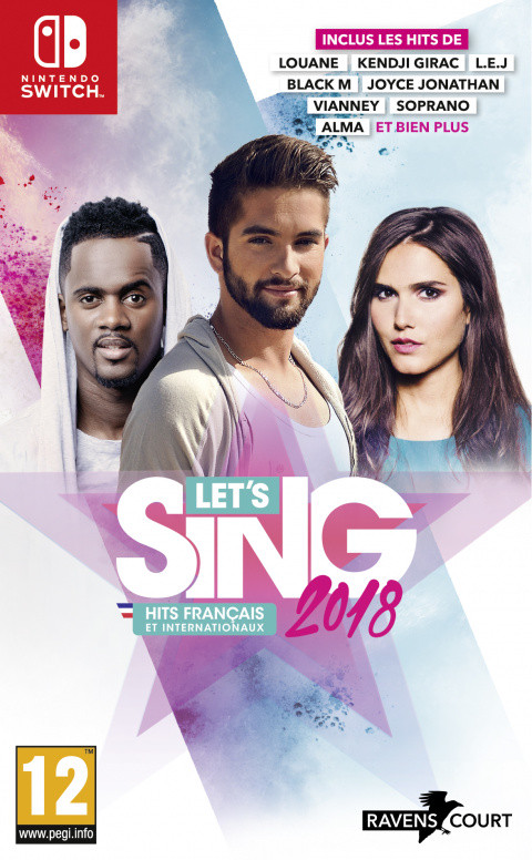 Let's Sing 2018 : Hits Français et Internationaux sur Switch