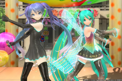 "Hatsune Miku Project Diva Future Tone DX : DLC ""Extra Encore Pack"" et support 4K"