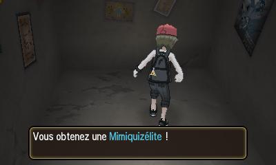 Cristaux Z spécifiques à un Pokémon