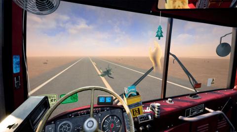 Desert Bus VR : Un long trajet en réalité virtuelle