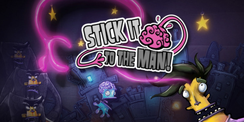 Stick It to The Man! sur Switch