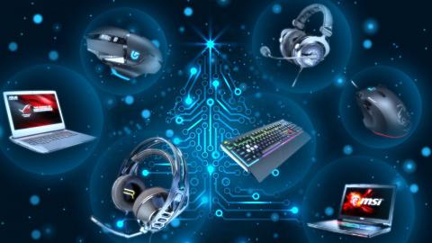 PC, PC portables, périphériques gaming : notre sélection pour Noël 2017