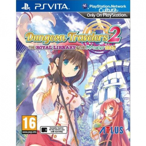 Dungeon Travelers 2 : The Royal Library & the Monster Seal sur Vita