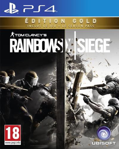 Tom Clancy's Rainbow Six Siege Gold edition sur PS4