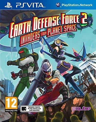 Earth Defense Force 2 : Invaders from Planet Space sur Vita