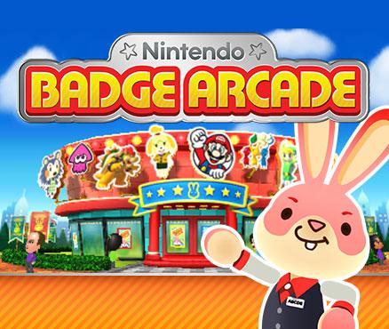 Nintendo Badge Arcade sur 3DS