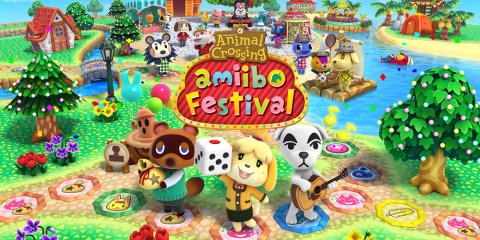 Animal Crossing : Amiibo Festival sur WiiU