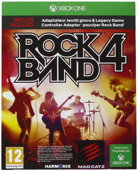 Rock Band 4 sur ONE