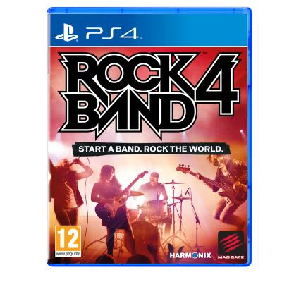 Rock Band 4 sur PS4