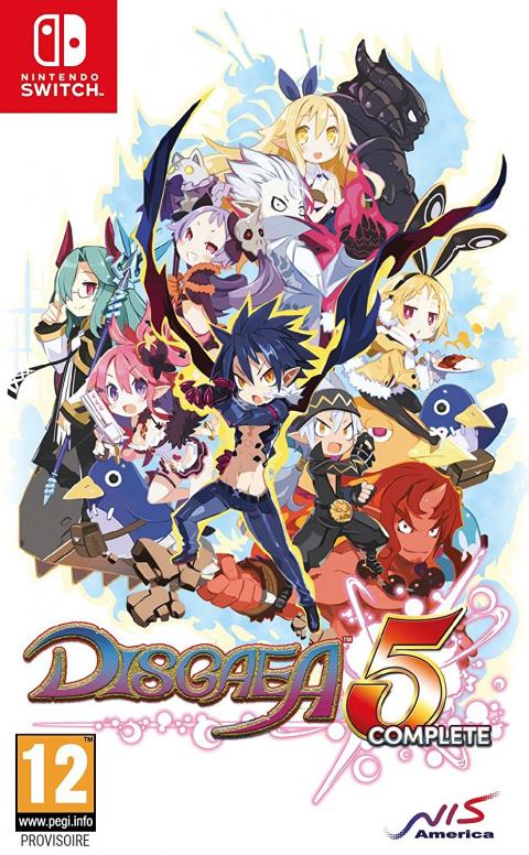 Disgaea 5 Complete sur Switch