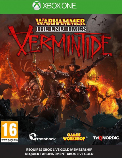 Warhammer : The End Times - Vermintide sur ONE