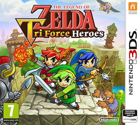 The Legend of Zelda : Tri Force Heroes sur 3DS