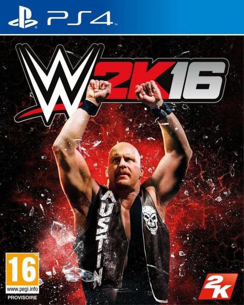 WWE 2K16 sur PS4