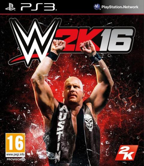 WWE 2K16 sur PS3