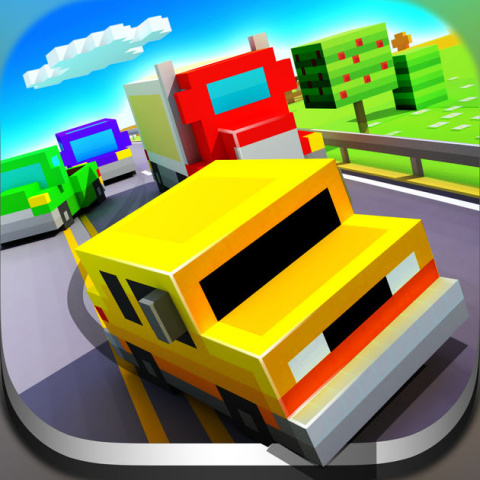 Blocky Highway sur Android