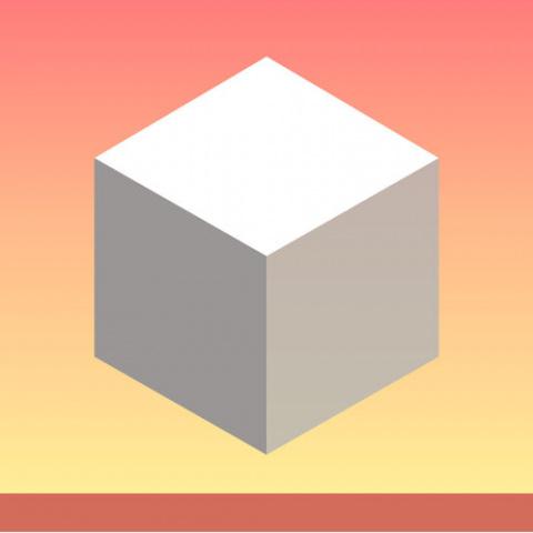 Cube Fall sur iOS