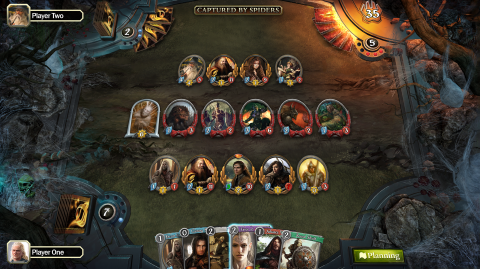 The Lord of The Rings Living Card Game : Le jeu de cartes qui favorise le solo