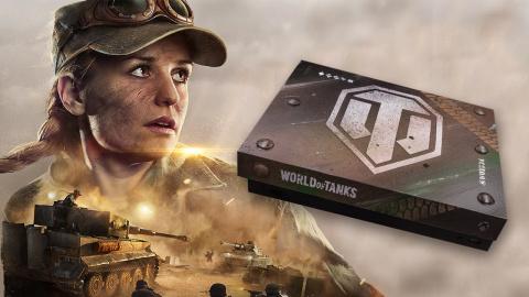 Tentez de gagner une Xbox One X Collector aux couleurs de World of Tanks !