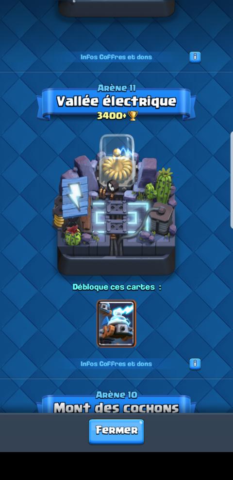 toute nouvelle carte clash royal