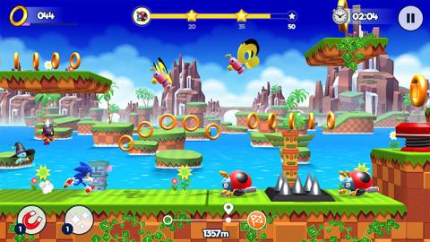 Jaquette de Sonic Runners Adventure débarque à toute vitesse sur mobile