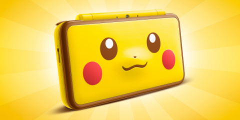La New Nintendo 2DS XL Pikachu Edition arrive en Europe
