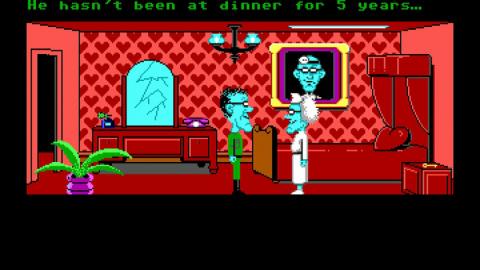 Maniac Mansion est arrivé sur Steam