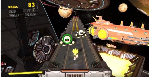 Sonic Forces : Super Sonic offert jusqu'en janvier