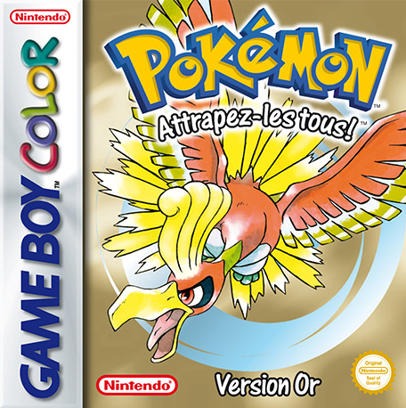 Pokémon Version Or sur GB