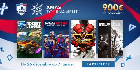 PS League : Derniers jours pour participer au XMAS Tournament