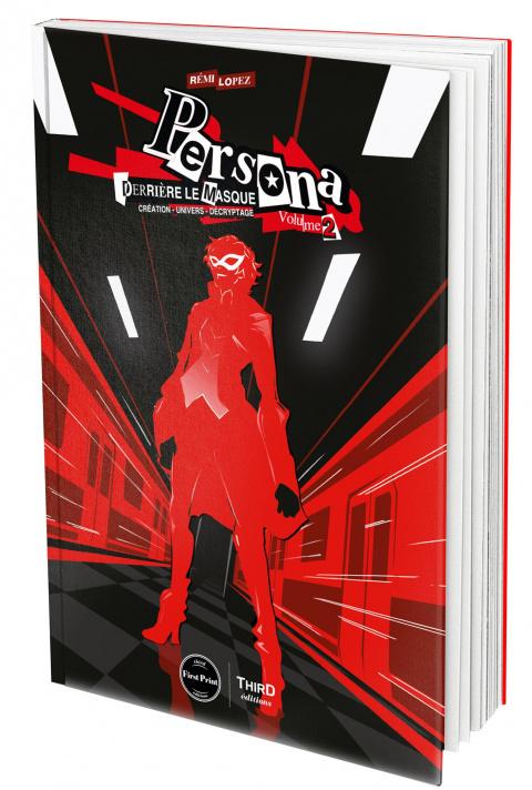 """Persona 5 à l'honneur dans le volume 2 de """"Persona : Derrière le Masque"""" (Third Editions)"""