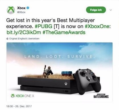 PUBG : Microsoft accusé de copie pour l'une de ses publicités