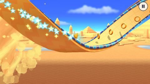 Sonic Runners Adventure : De la Plate-Forme qui fonce dans la main