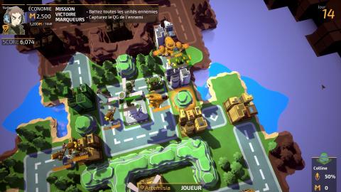 Tiny Metal : Advance Wars, sans le génie ni le charme