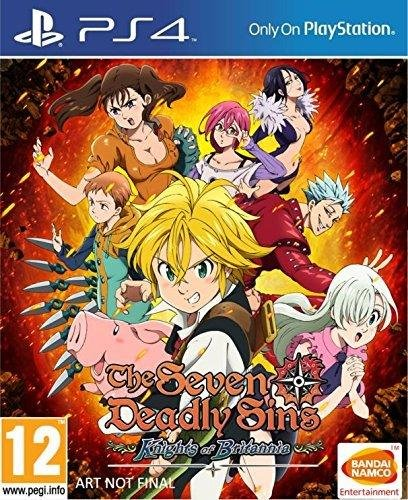 The Seven Deadly Sins: Knights of Britannia sur PS4