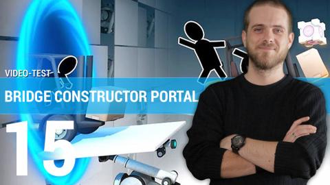 Jaquette de Bridge Constructor Portal : notre avis en deux minutes