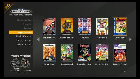 SEGA Megadrive Flashback : Une console opportuniste qui exploite la nostalgie des fans