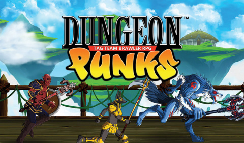 Dungeon Punks sur PS4