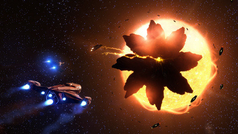 Jaquette de Elite Dangerous : Beyond Chapter One annonce sa bêta