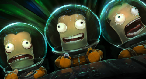 Jaquette de Décollage imminent pour l'Enhanced Edition de Kerbal Space Program