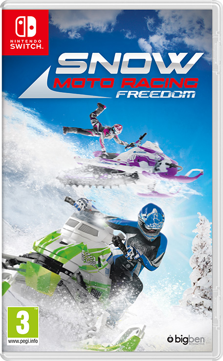 Snow Moto Racing Freedom sur Switch