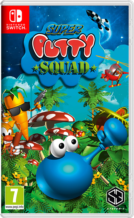Super Putty Squad sur Switch
