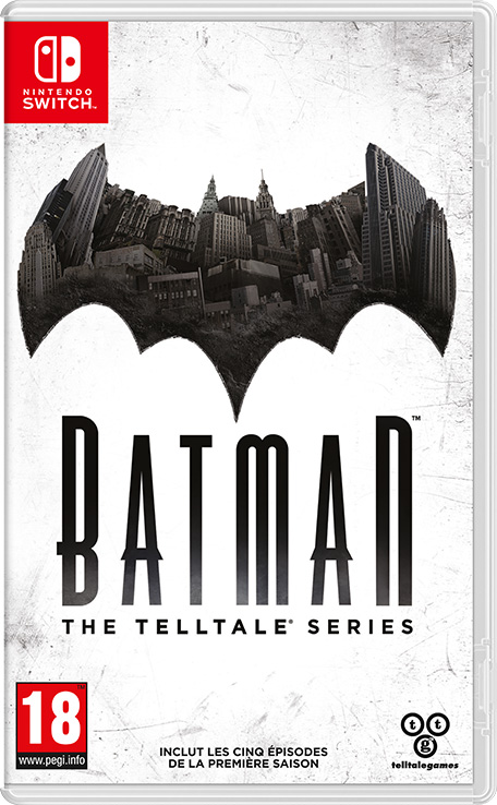 Batman : The Telltale Series sur Switch