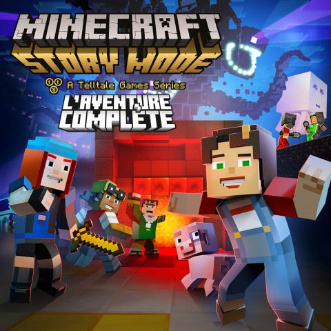 Minecraft : Story Mode - L'Aventure Complète sur Switch