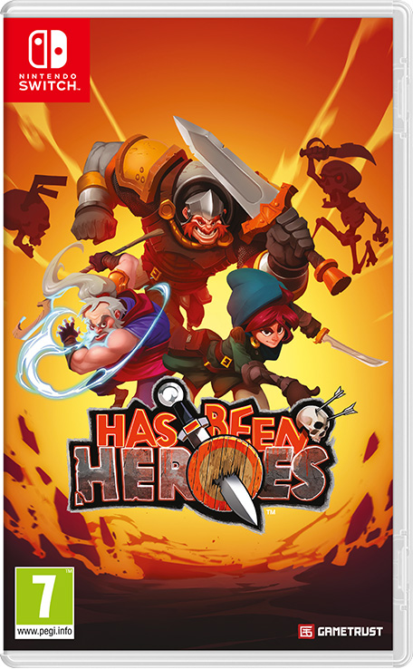 Has-Been Heroes sur Switch