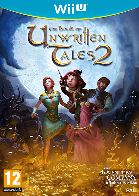 The Book of Unwritten Tales 2 sur WiiU