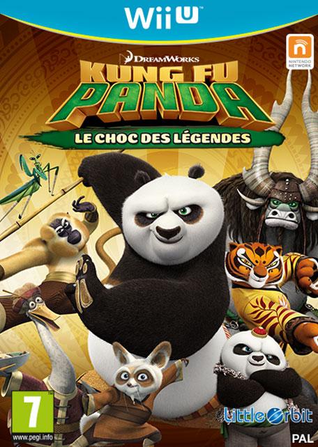 Kung Fu Panda : Le Choc des Légendes sur WiiU