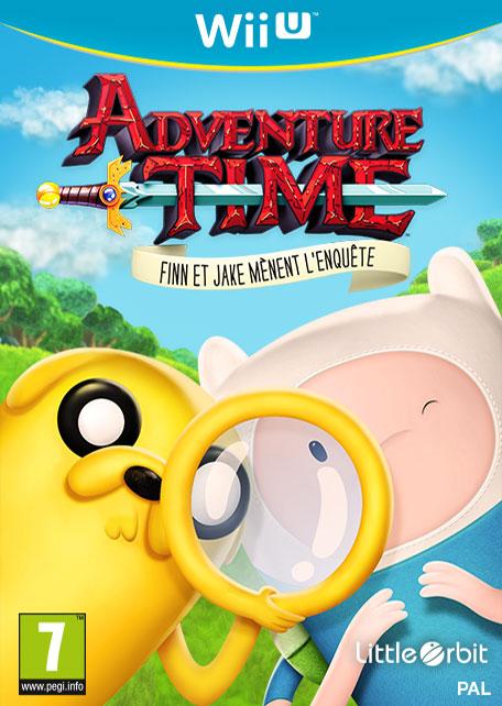 Adventure Time : Finn Et Jake Mènent L'enquête sur WiiU