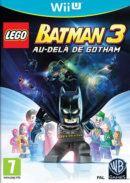 LEGO Batman 3 : Au-delà de Gotham sur WiiU